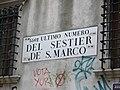 Venezia Fondaco dei Tedeschi house number.jpg