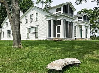 Indiana Landmarks - Veraestau Historic Site, Aurora