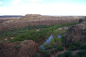 Antonio de Espejo - Espejo explored the Verde River valley of Arizona looking for silver mines.