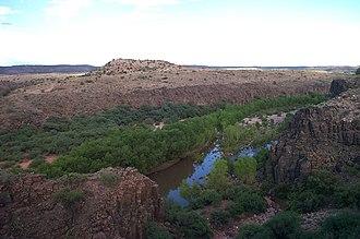 Antonio de Espejo - Espejo explored the Verde River valley of Arizona looking for silver mines.