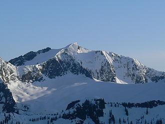 Vesper Peak - Photo of Vesper Peak from Mount Dickerman