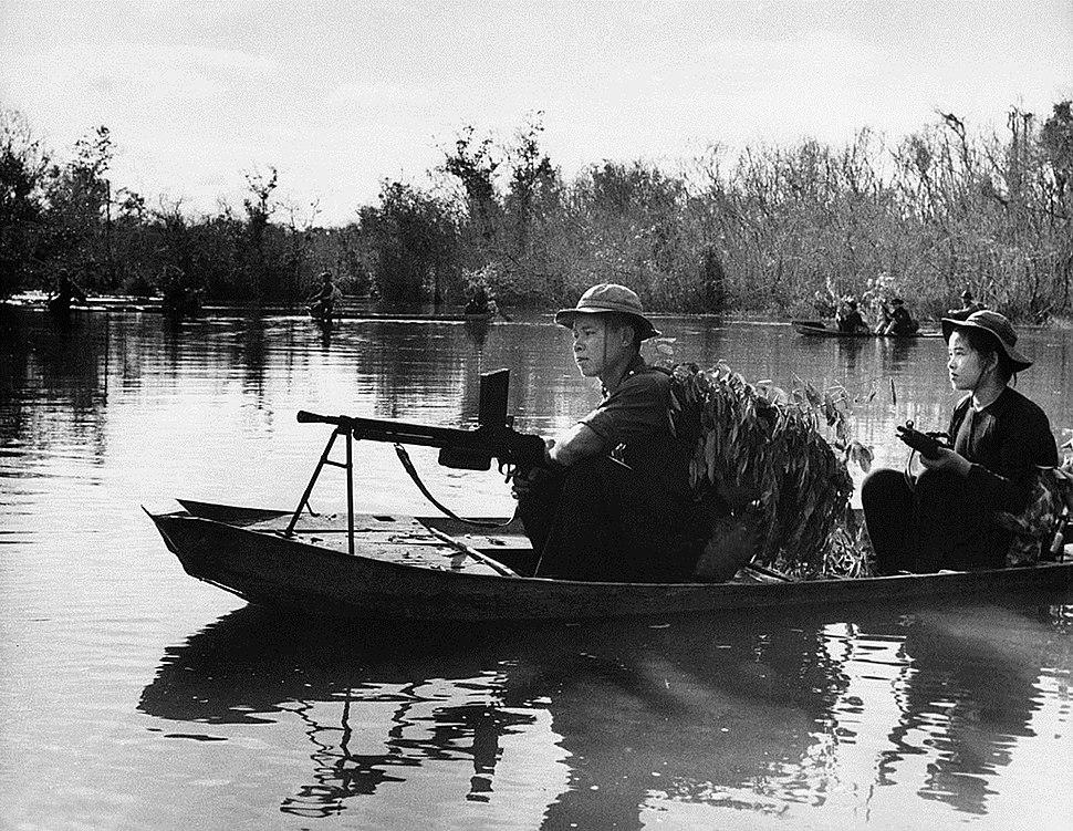 Vietcong Guerrilla Patrols