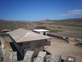Fort Teremba - Image: View from the top of the fort