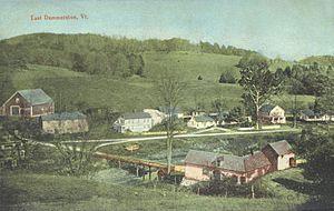 Dummerston, Vermont - East Dummerston in 1913