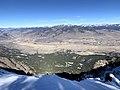 View of Gardiner, MT from Sepulcher Mountain.jpg