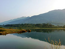 View of Malankara Dam reservoir from Kudayathoor 2.jpg