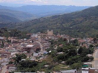 San Juan de Rioseco - Looking south across San Juan