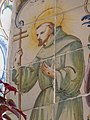 Vilamarxant. Retaule ceràmic de la Mare de Déu dels Desamparats i altres sants. Sant Francesc d'Assís.jpg