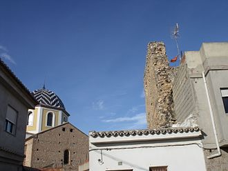 Vilamarxant - Church and Arab tower