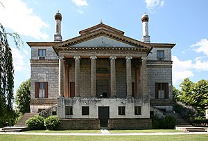 Villa Foscari - Villa Foscari: facing the Brenta