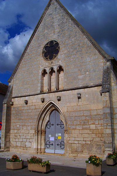 Église de Vincelles, façade ouest