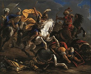 Vincenzo Armanno - Image: Vincent Adriaenssen Cavalry battle between Turks and Christians