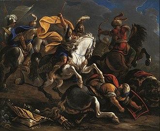 Vincenzo Armanno - Image: Vincent Adriaenssen Cavalry battle between Turks and Christians