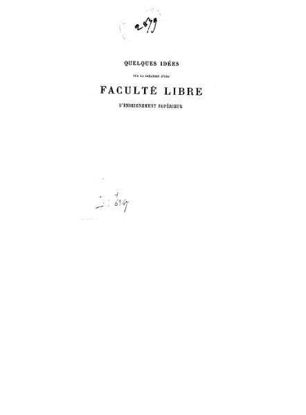 File:Vinet - Boutmy - Quelques idées sur la création d'une faculté libre d'enseignement supérieur.djvu
