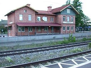 Vingåker Place in Södermanland, Sweden