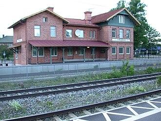 Vingåker - Vingåker railway station