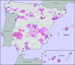 Rioja Region Spain Map.Spanish Wine Regions Wikipedia