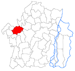 Location of Vişani