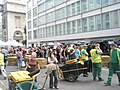 Visitors and staff alike enjoying the mediaeval market in Cheapside - geograph.org.uk - 890381.jpg