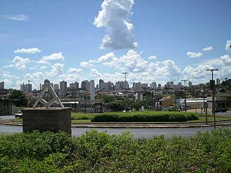 Araraquara - Image: Vista de Araraquara
