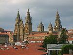 Vista de la Catedral de Santiago de Compostela.JPG