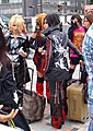 Visual-kei girls near Harajuku Quest Hall, 2008-04-20.jpg
