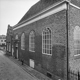 Henriette Pressburg - Synagogue in Nonnenstraat, Nijmegen, built in 1756.