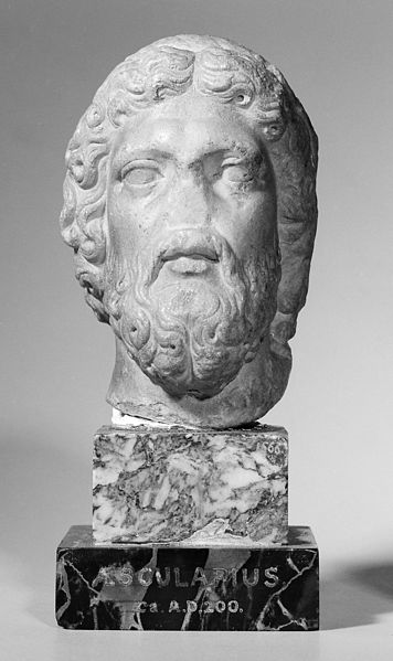 File:Votive bust of Aesculapius. Wellcome M0015222.jpg