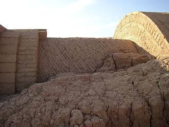 Nubian vault - The ruins of Ayn Asil in Dakhla, Egypt