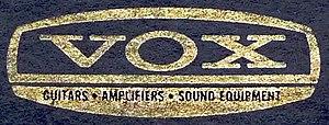 Vox (musical equipment) - Image: Vox full logo (high contrast)