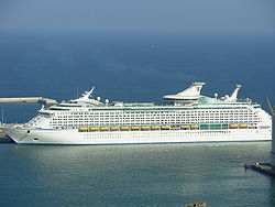 Voyager of the Seas Barcelona.JPG