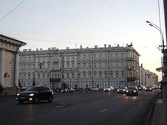 Executive Committee of the Communist International - ECCI building on Vozdvizhenka Street