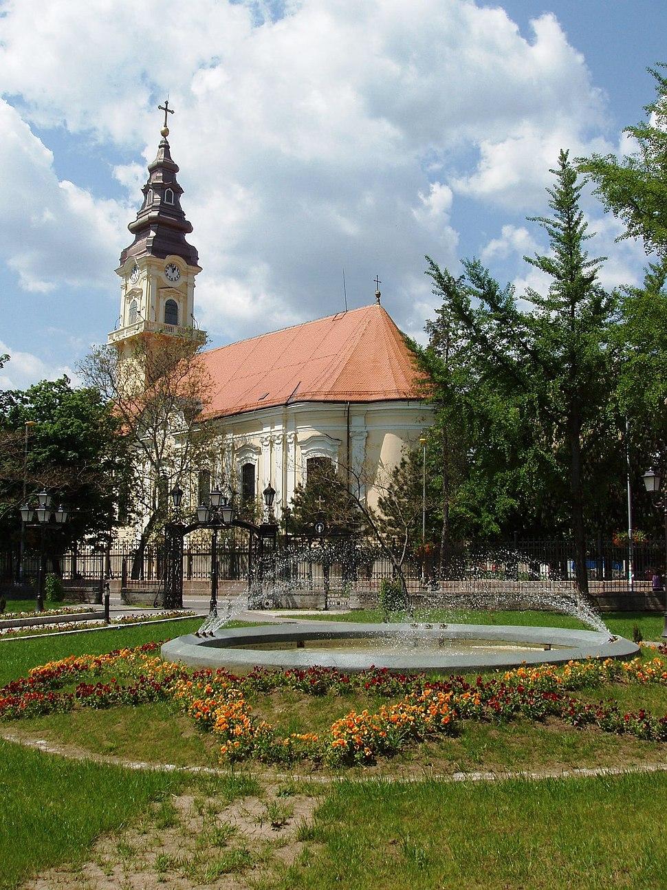 Vrsac-Main Serbian Orthodox Church