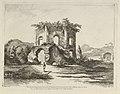 Vue d'un temple... dédié à Diane from Differentes vues dessiné d'après nature... dans les environs de Rome et de Naples MET DP842903.jpg