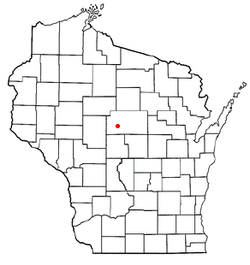 Location of Cleveland, Wisconsin