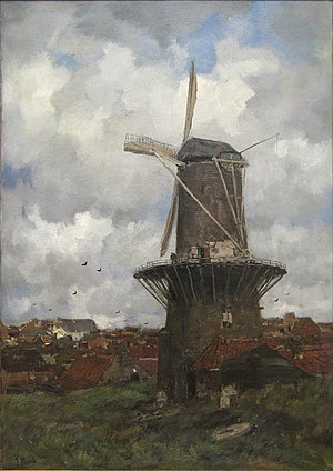 Jacob Maris - The Windmill.