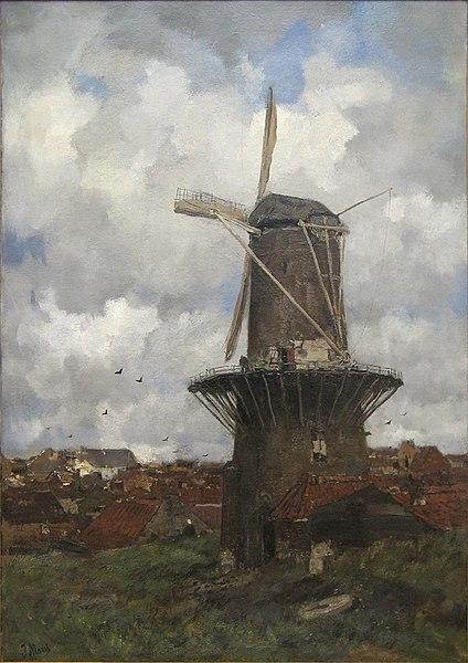 File:WLANL - artanonymous - Stenen molen.jpg