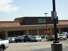 A Walmart Neighborhood Market in San Bernardino, California, parcel now vacant.