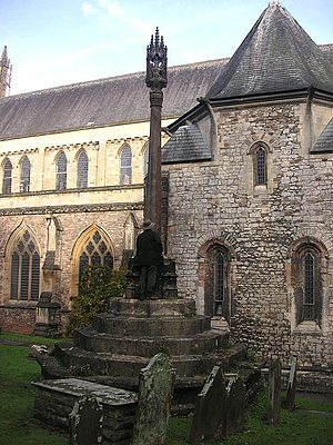 William Conybeare (geologist) - W D Conybeare's Grave and Memorial,  Llandaff Cathedral