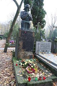 Wacław Nałkowski i Hanna Nałkowska grób.JPG