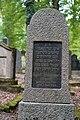 Waibstadt - Jüdischer Friedhof - Grabstein Rudolf Schlesinger (1865-1929) 2.jpg