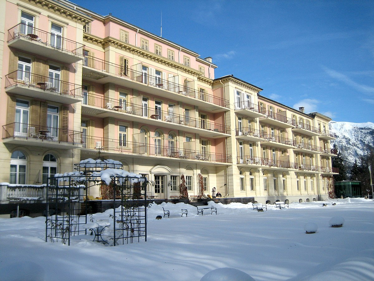 Hotel waldhaus flims wikipedia for Small luxury hotels of the world wiki