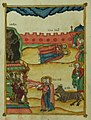 Walters Ms. W917 - Apocalypse by Andrew of Caesarea f.103v Two witnesses and the beast.jpg