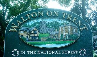 Walton-on-Trent - Image: Waltonin N Forest 8