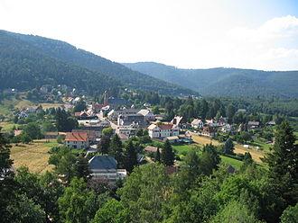 Wangenbourg-Engenthal - Image: Wangenbourg 3