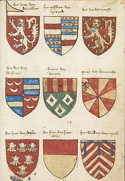 Wapenboek Beyeren (armorial) - KB79K21 - folio 054r