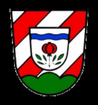 Bibertal - Image: Wappen Bibertal
