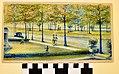 Watercolor Painting of Flora Boulevard by John W. Herthel.jpg