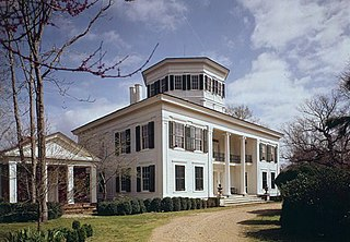 Waverley (West Point, Mississippi) mansion in Clay County, Mississippi