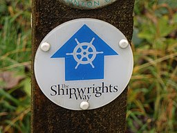 Waymark for Shipwrights Way